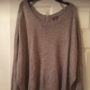 Vince Camino metallic dolman sleeve sweater